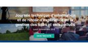 Journée technique d'information et de retour d'expérience de la gestion des sites et sols pollués